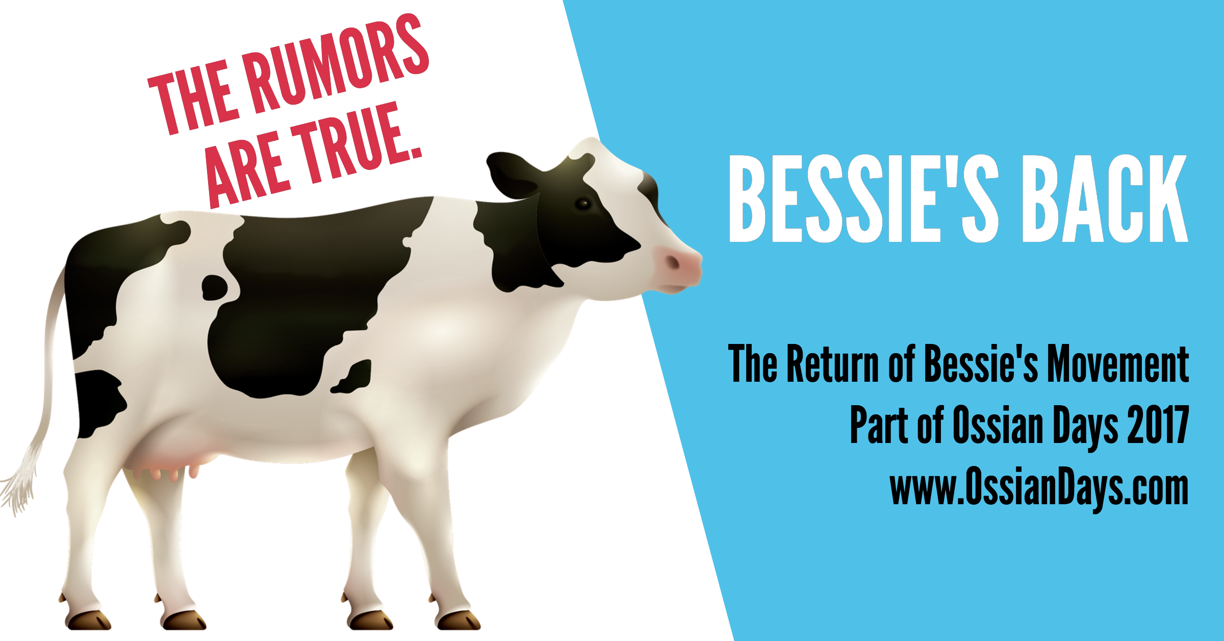 Bessie's Movement Returns to Ossian Days 2017