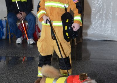 Ossian Days Pet Parade Firefighter Duo