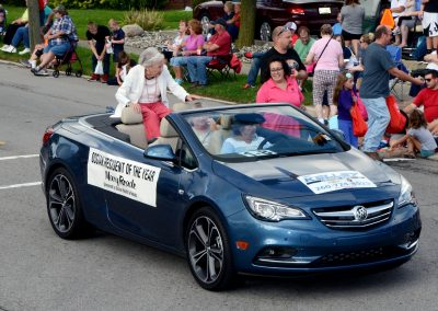 Ossian Resident of the Year in the Ossian Days 2016 Parade